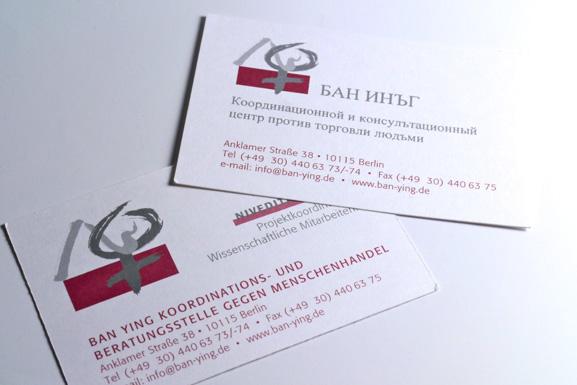 Corporate Design Ban Ying Maja Burggaller Grafik Design Berlin