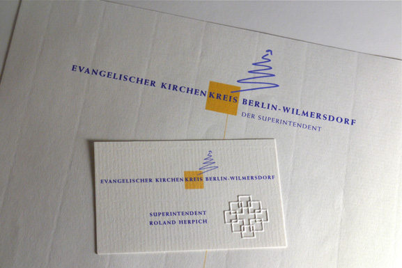 Corporate Design Kirchenkreis Wilmersdorf Maja Burggaller